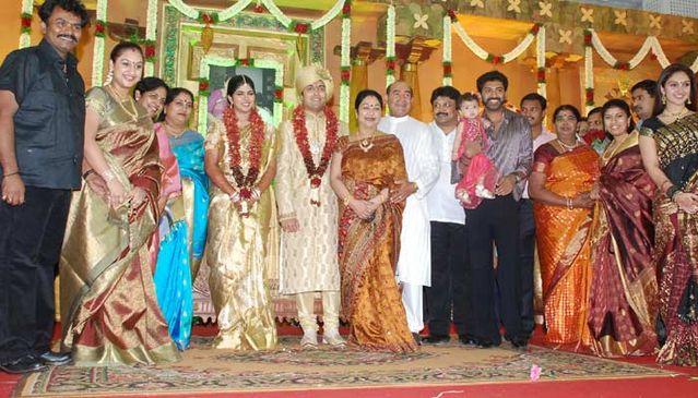 Vijayakumar Family Arun Manjula Sridevi Prabu Marriage