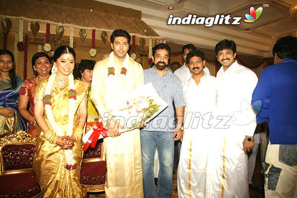 Jeyam Ravi Wedding Marriage M Kumaran Son Of Mahalakshmi Asin Visitors