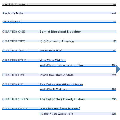 ISIS_Book_Table_Of_Contents