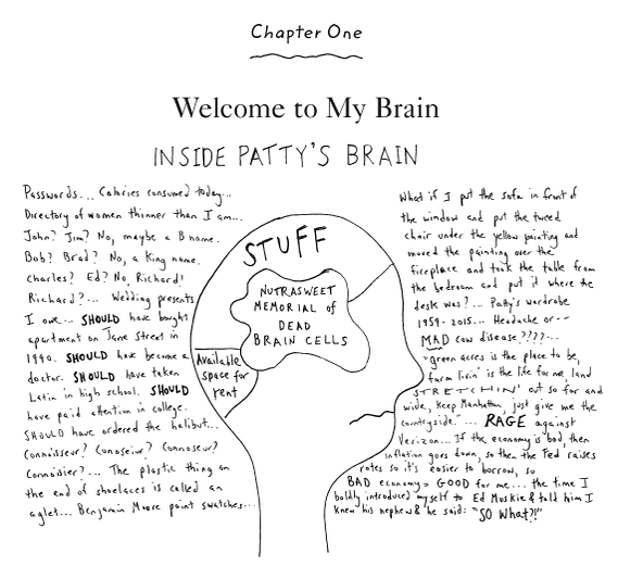 Lets_Be_Less_Stupid_Patricia_Marx_New_Yorker_Book_Humor_Brain_Memory_Graph_Comics_Cartoons