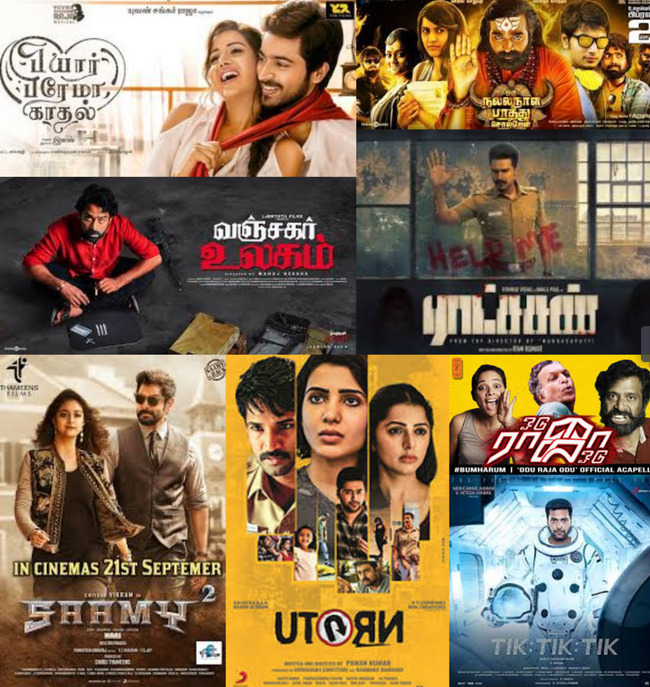 Best Tamil Movies of 2018 - What are the Top picks for Mokkai Cinema